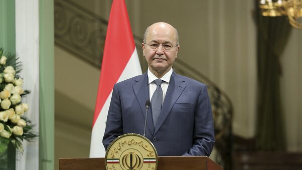 Iraqi President Barham Salih - Sputnik International
