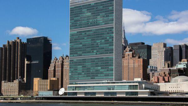United Nations bulding, New York - Sputnik International