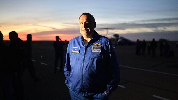 Dmitry Rogozin, the head of Russia's Roscosmos state corporation - Sputnik International