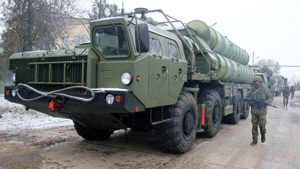 The Triumph S-400 division came on duty in the Crimea - Sputnik International