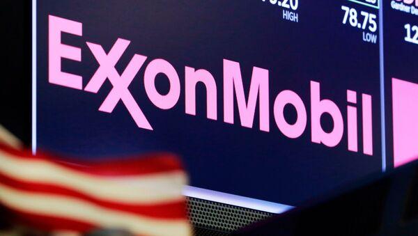 ExxonMobil logo - Sputnik International