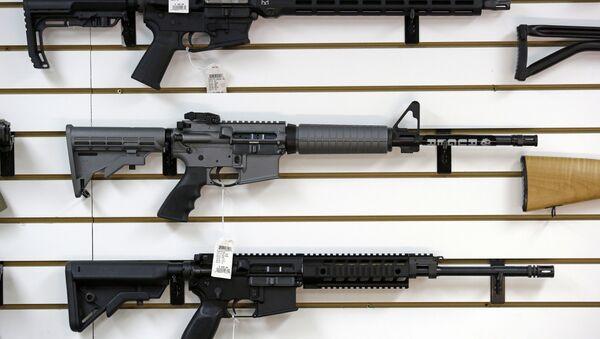 Ruger AR-15 semi-automatic rifles - Sputnik International