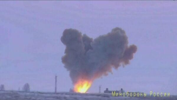 Launch of Russian hypersonic glide vehicle Avangard  - Sputnik International