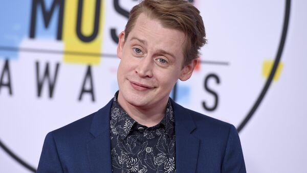 Macaulay Culkin arrives at the American Music Awards on Tuesday, Oct. 9, 2018, at the Microsoft Theater in Los Angeles - Sputnik International
