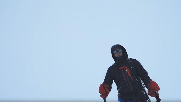 Record Trek: US Man Becomes First Person to Cross Antarctica Alone (PHOTOS) - Sputnik International