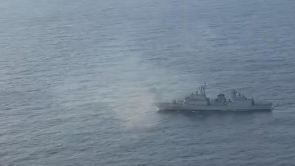 Japan releases footage showing South Korea warship allegedly locking its radar on a Japanese patrol plane - Sputnik International