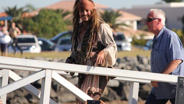 Johnny Depp in Queensland, Australia - Sputnik International