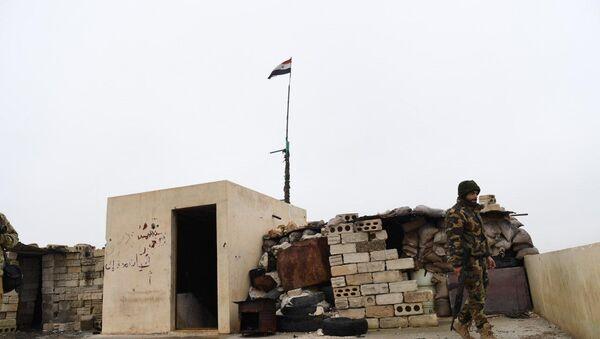 Syrian Armed Forces Deployed Along Manbij Border, Aleppo Province, 30 December, 2018 - Sputnik International