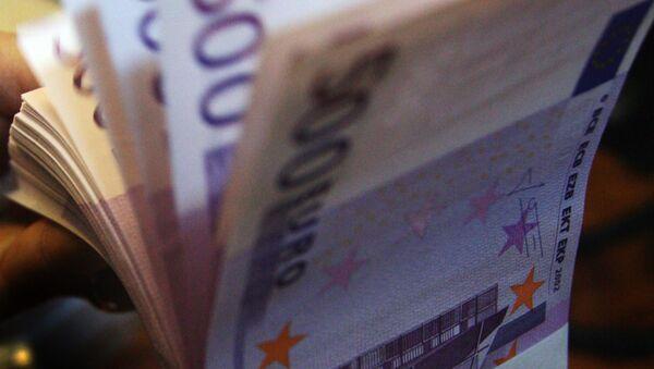 500 euro notes. - Sputnik International
