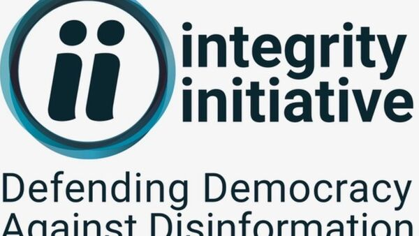 Integrity Initiative Logo - Sputnik International