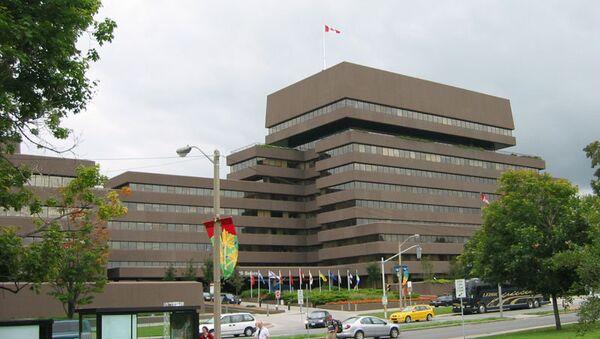 Foreign Affairs Building of Canada - Sputnik International