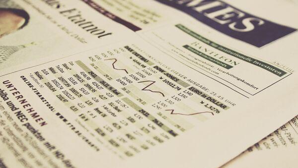 Stock market indexes - Sputnik International