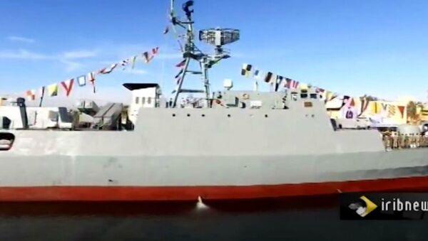 Iran's Sahand Warship - Sputnik International