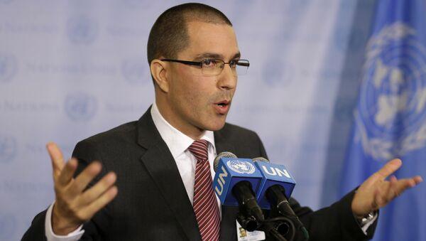 Venezuelan Foreign Minister Jorge Arreaza - Sputnik International