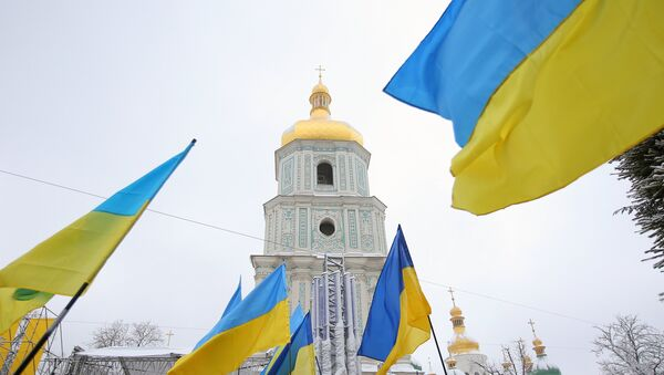 Sofiyivska Square in Kiev - Sputnik International