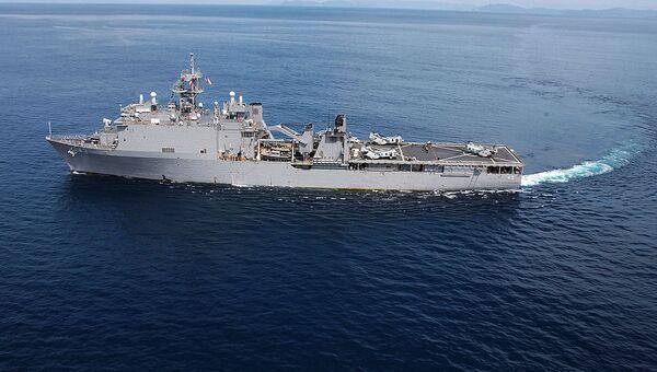 Buque USS Fort McHenry (archivo) - Sputnik International