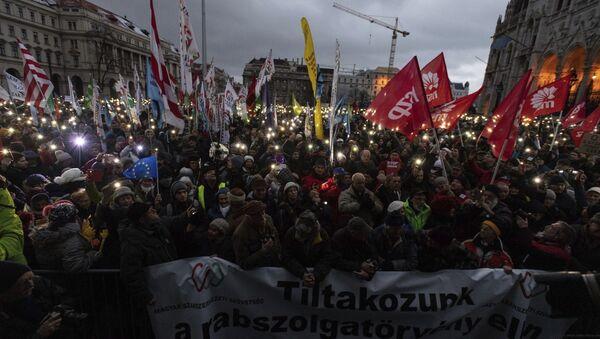HUNGARY POLITICS PROTEST - Sputnik International