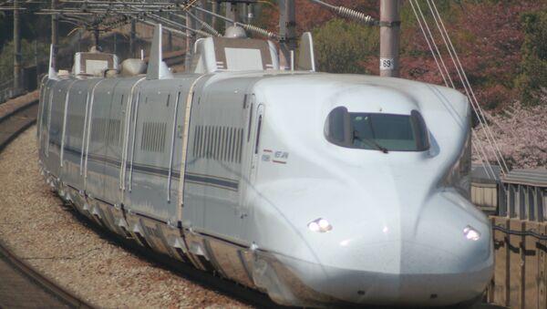 JR Central's next-gen N700S shinkansen 'bullet' train - Sputnik International