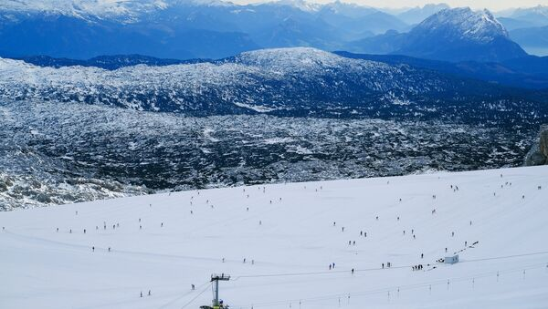 Austrian Alps in Ramsau, Hoher Dachstein - Sputnik International