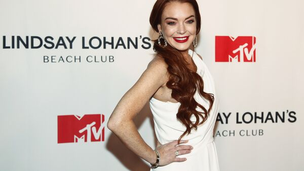Lindsay Lohan attends MTV's Lindsay Lohan's Beach Club series premiere party at Magic Hour Rooftop at The Moxy Times Square on Monday, Jan. 7, 2019, in New York - Sputnik International