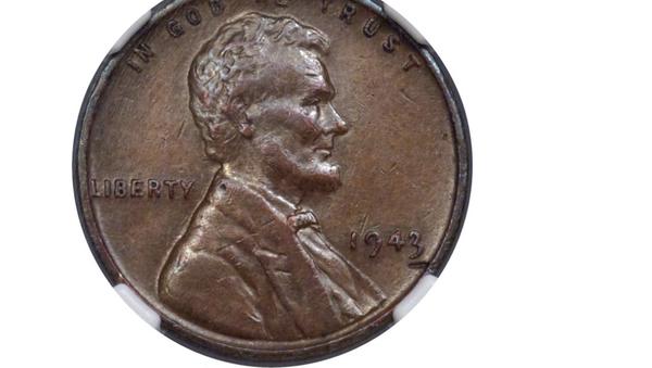 Rare 1943 copper Lincoln penny - Sputnik International