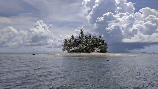 Jeep Island in Chuuk, Micronesia, photographed Oct. 29, 2017 - Sputnik International