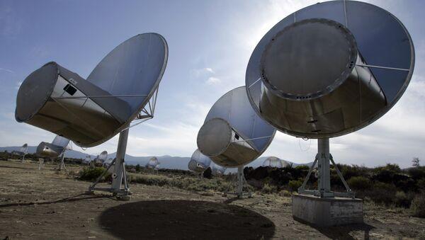 radio telescopes of the former Allen Telescope Array in Hat Creek, Calif. - Sputnik International