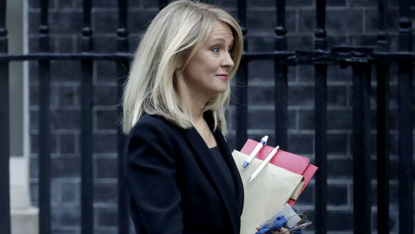 Britain's Secretary of State for Work and Pensions Esther McVey - Sputnik International