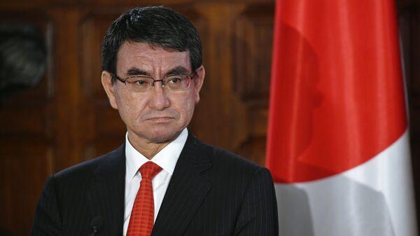 Japanese Foreign Minister Taro Kono - Sputnik International