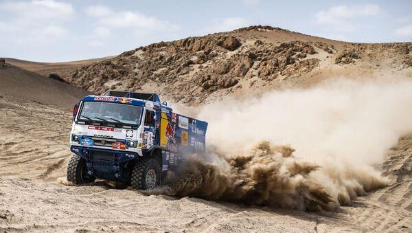 Photos of the KAMAZ Master team during the third stage of the Dakar 2019 Rally - Sputnik International
