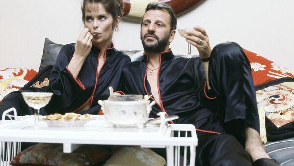 Former Beatle Ringo Starr with wife Barbara Bach, May 16, 1983. - Sputnik International