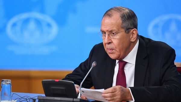 Russian Foreign Minister Sergei Lavrov is holding his annual big press conference. - Sputnik International