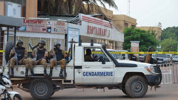 Security forces deploy to secure the area in the Burkina Faso (File) - Sputnik International