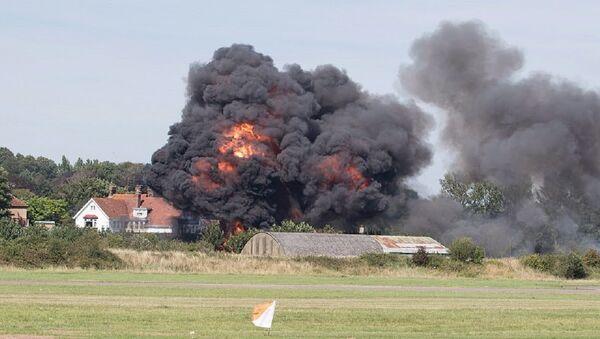 Shoreham air crash - Sputnik International