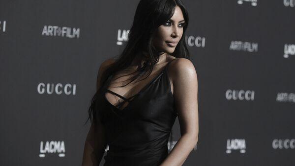 Kim Kardashian attends the 2018 LACMA Art+Film Gala at Los Angeles County Museum of Art on Saturday, Nov. 3, 2018, in Los Angeles - Sputnik International