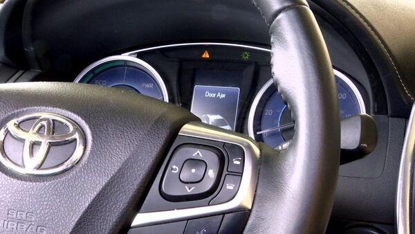 dashboard of a Toyota sedan - Sputnik International