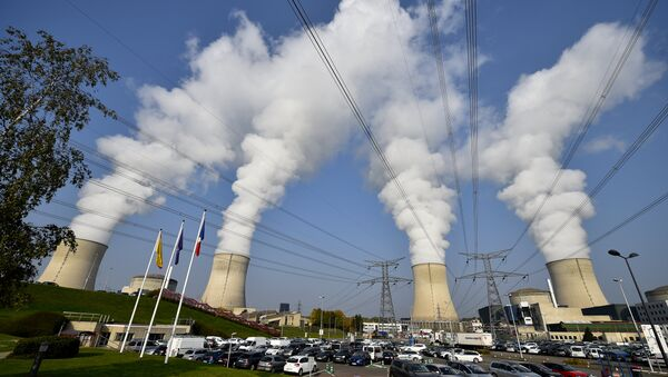 The cooling towers at Cattenom nuclear power station in France, near the Luxembourg border - Sputnik International