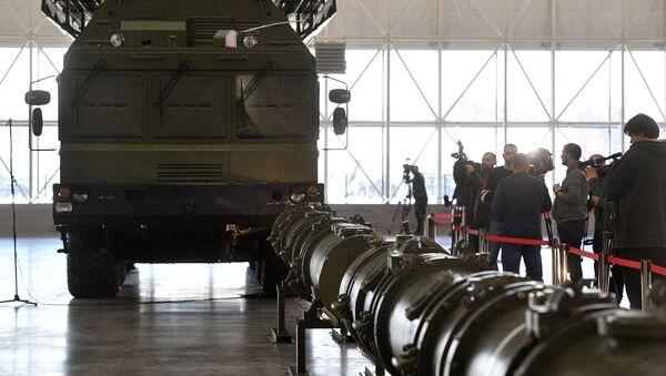 Demonstration of rocket 9M729 for military attaches - Sputnik International