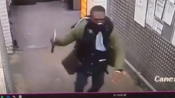 Purly Tesco axe man. Croydon, South London England - Sputnik International