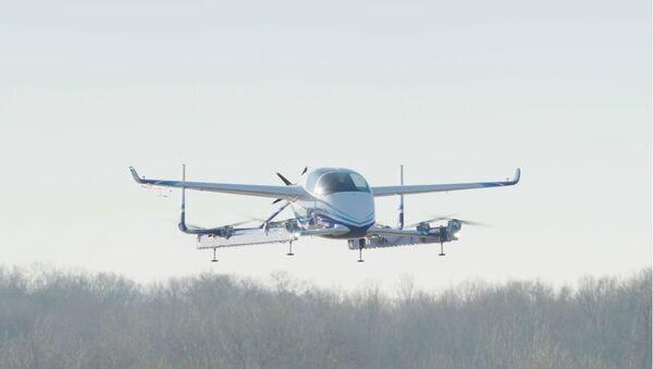 Boeing Autonomous Passenger Air Vehicle Completes First Flight - Sputnik International