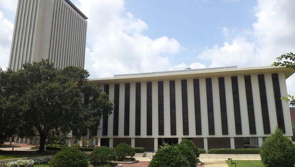 Florida State Capitol and Florida House Office. Tallahassee, Leon County, Florida - Sputnik International