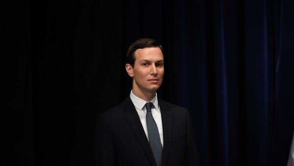 Senior Advisor to the President of the United States Jared Kushner, is pictured before being decorated with the Mexican Order of the Aztec Eagle by Mexico's President Enrique Pena Nieto in Buenos Aires, on November 30, 2018 - Sputnik International
