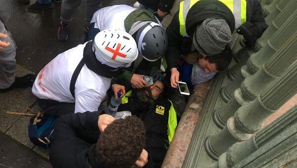 Yellow Vests Riot - Sputnik International