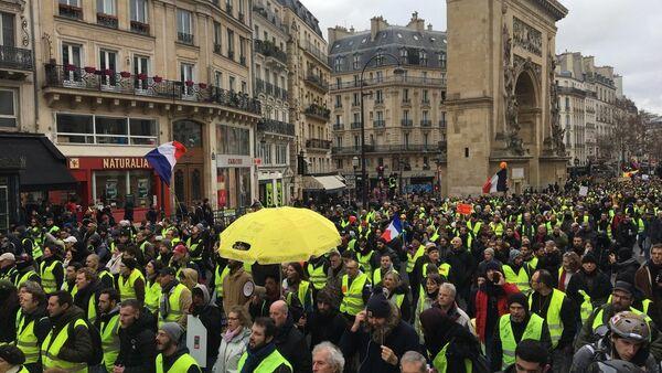 Yellow Vests Protest - Sputnik International
