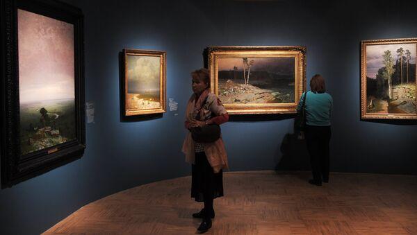 Exhibition of Arkhip Kuindzhi at the Tretyakov Gallery - Sputnik International