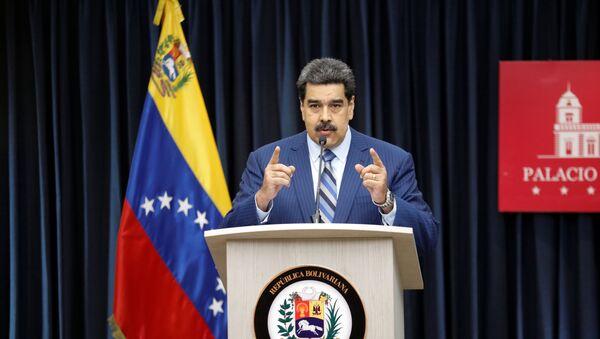 Nicolas Maduro, presidente de Venezuela - Sputnik International