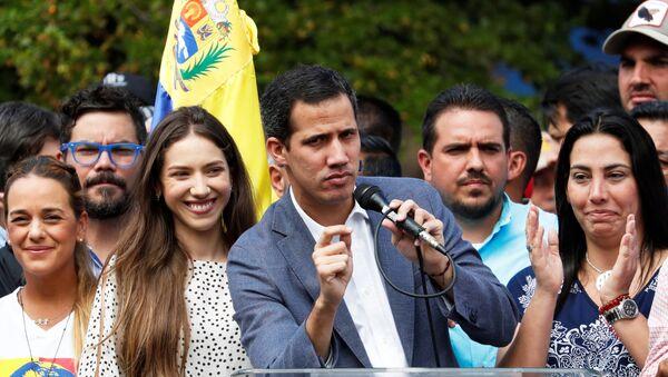 Venezuela's opposition leader Juan Guaido - Sputnik International
