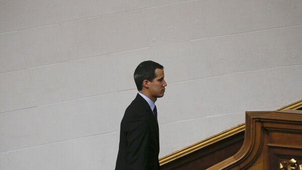 Opposition National Assembly President Juan Guaido - Sputnik International