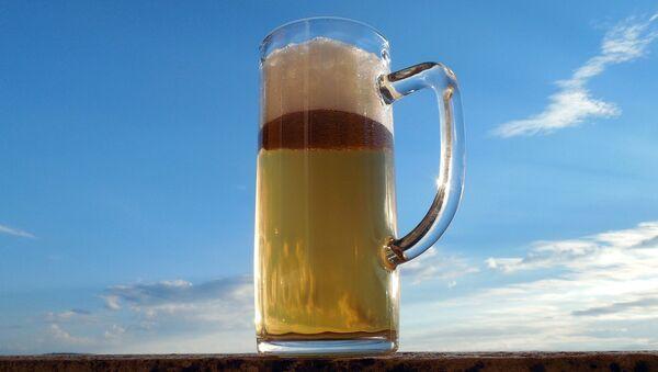 Glass of beer - Sputnik International