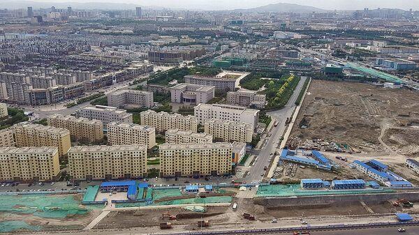Aerial view of Urumqi, Xinjiang Province, PR China - Sputnik International